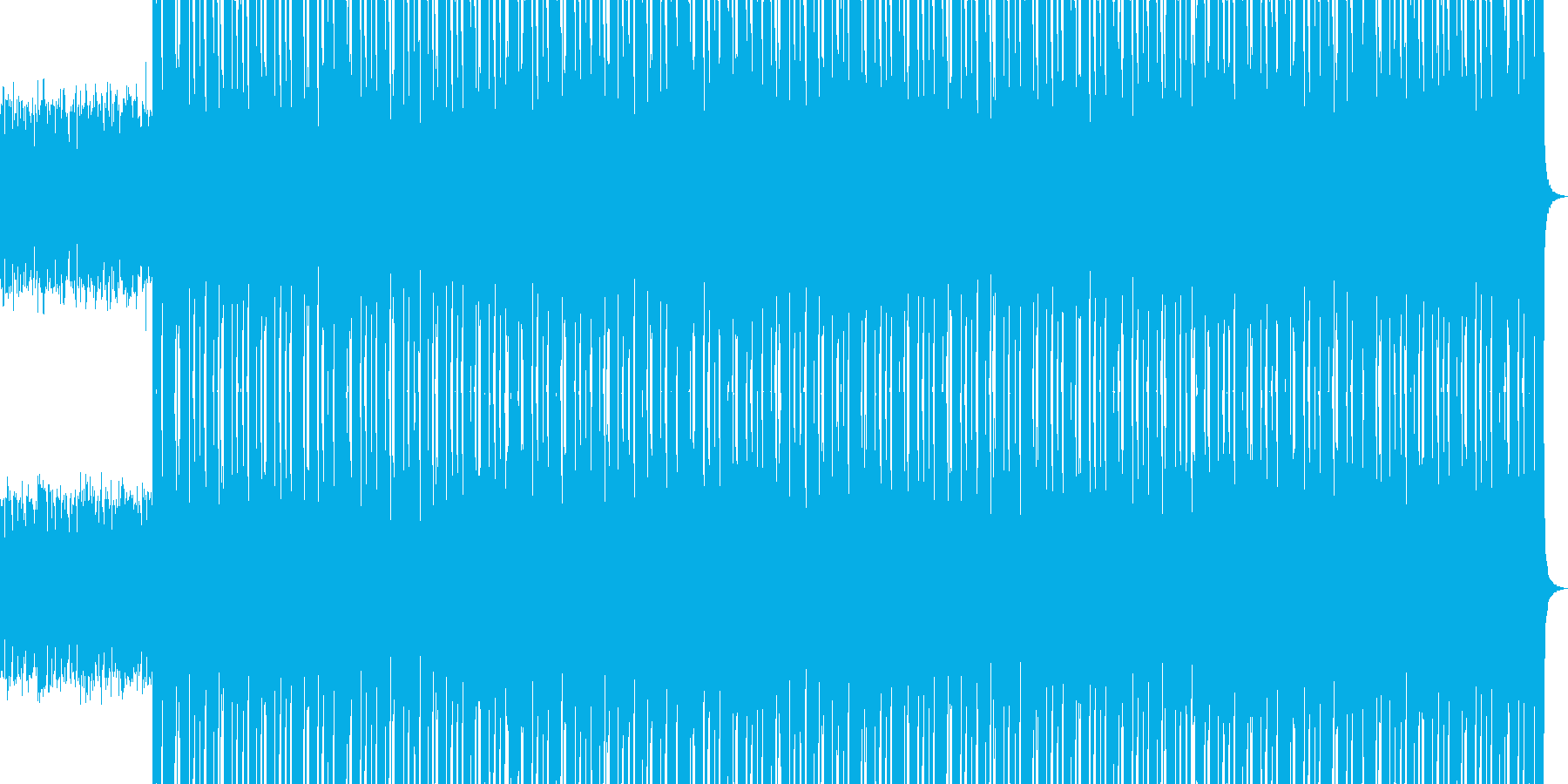 HIP HOP BEAT 03の再生済みの波形