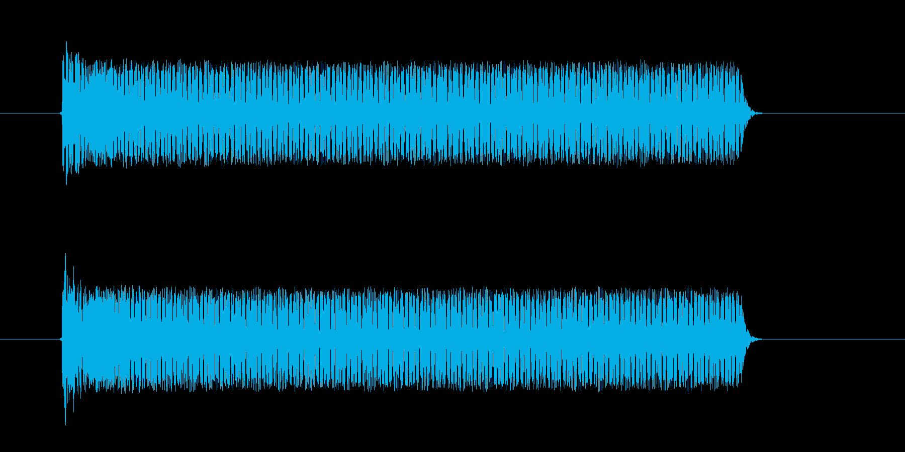 ビューンシュルシュル(宇宙、飛ぶ、回転)の再生済みの波形