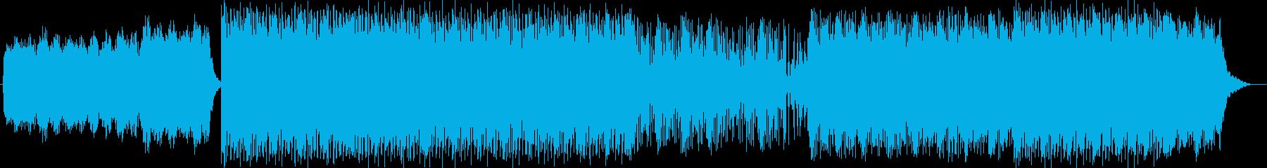 軽快で神秘的で和風なユーロビートサウンドの再生済みの波形