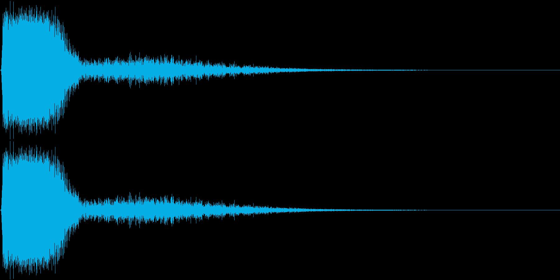 KAKUGE 格闘ゲーム戦闘音 56の再生済みの波形