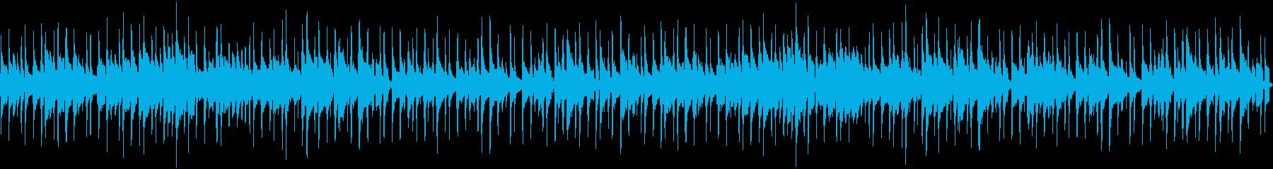 明るい可愛いウクレレ、カリンバのポップスの再生済みの波形