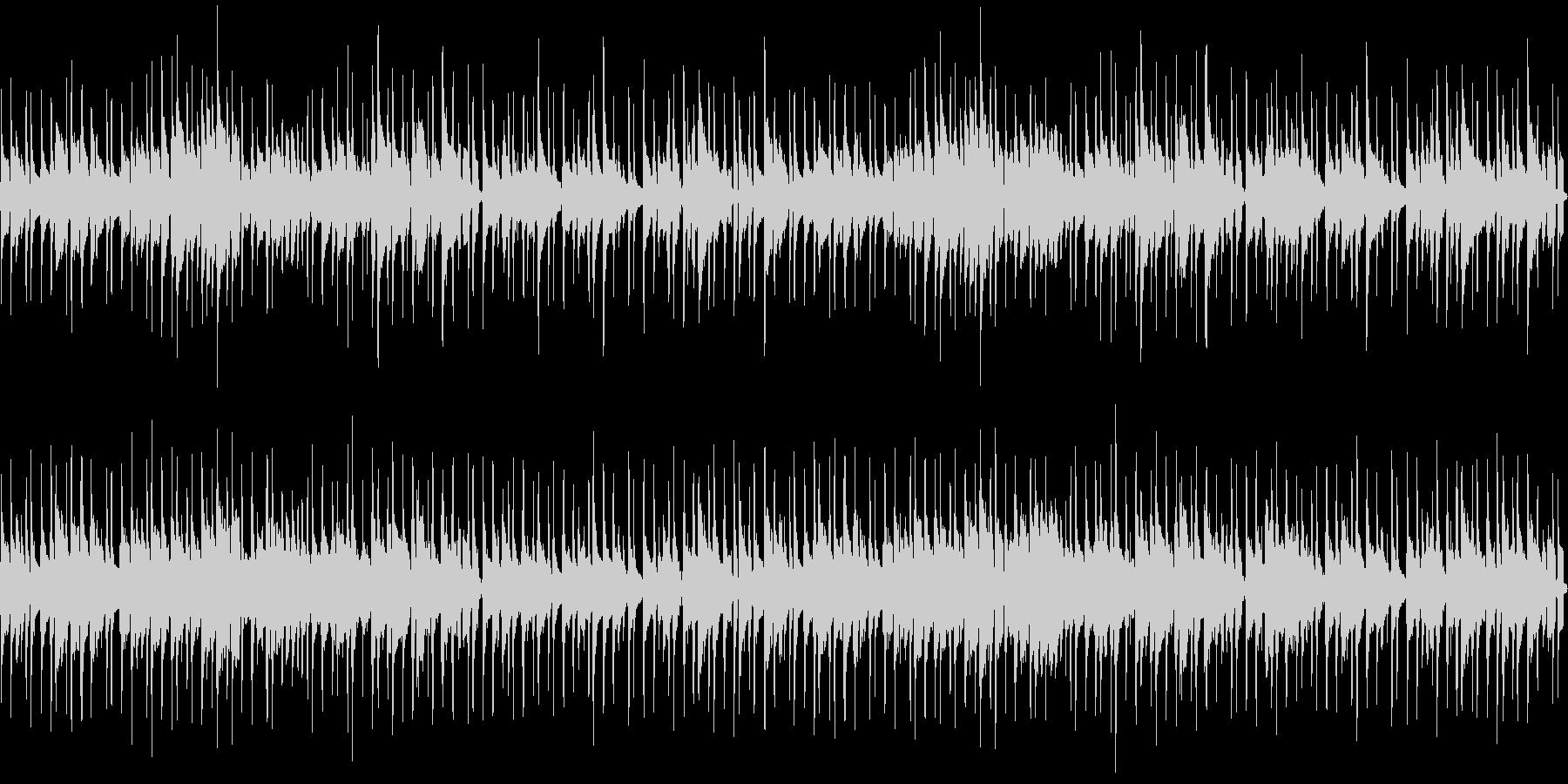 明るい可愛いウクレレ、カリンバのポップスの未再生の波形