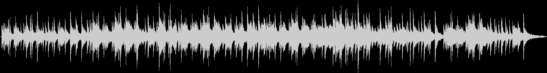 ピアノソロの切ない曲の未再生の波形