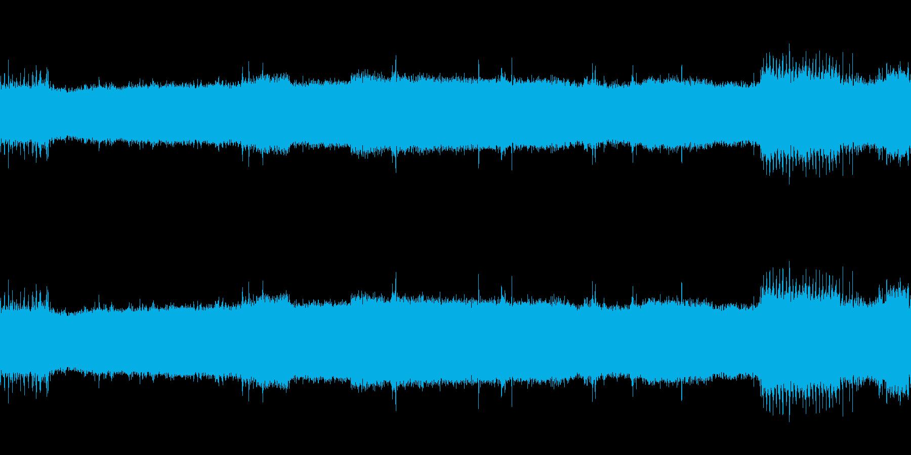 【生音】 電車 - 走行音 - 03の再生済みの波形