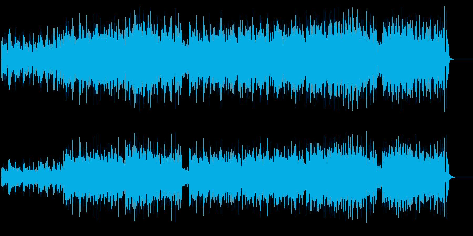 ムービー音楽風のせつないギターの調べの再生済みの波形