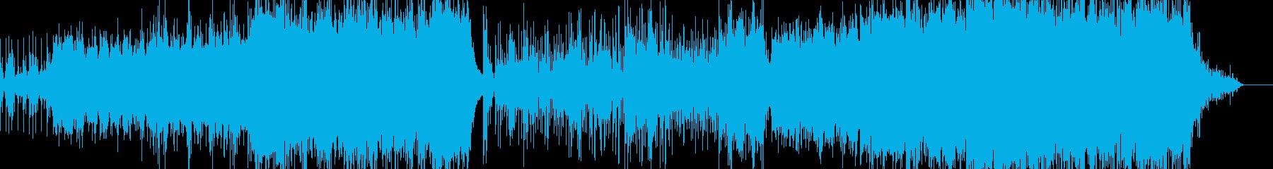 西アジア風音楽ーEast windの再生済みの波形