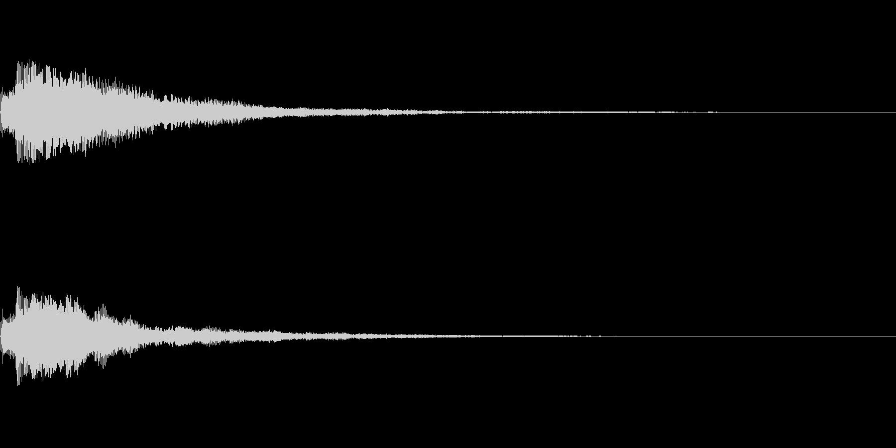 しゃらん♪ (連鎖03)の未再生の波形