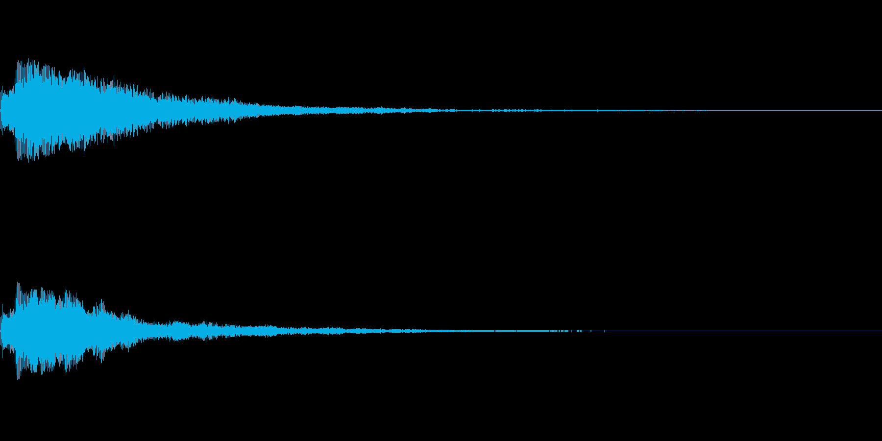 しゃらん♪ (連鎖03)の再生済みの波形