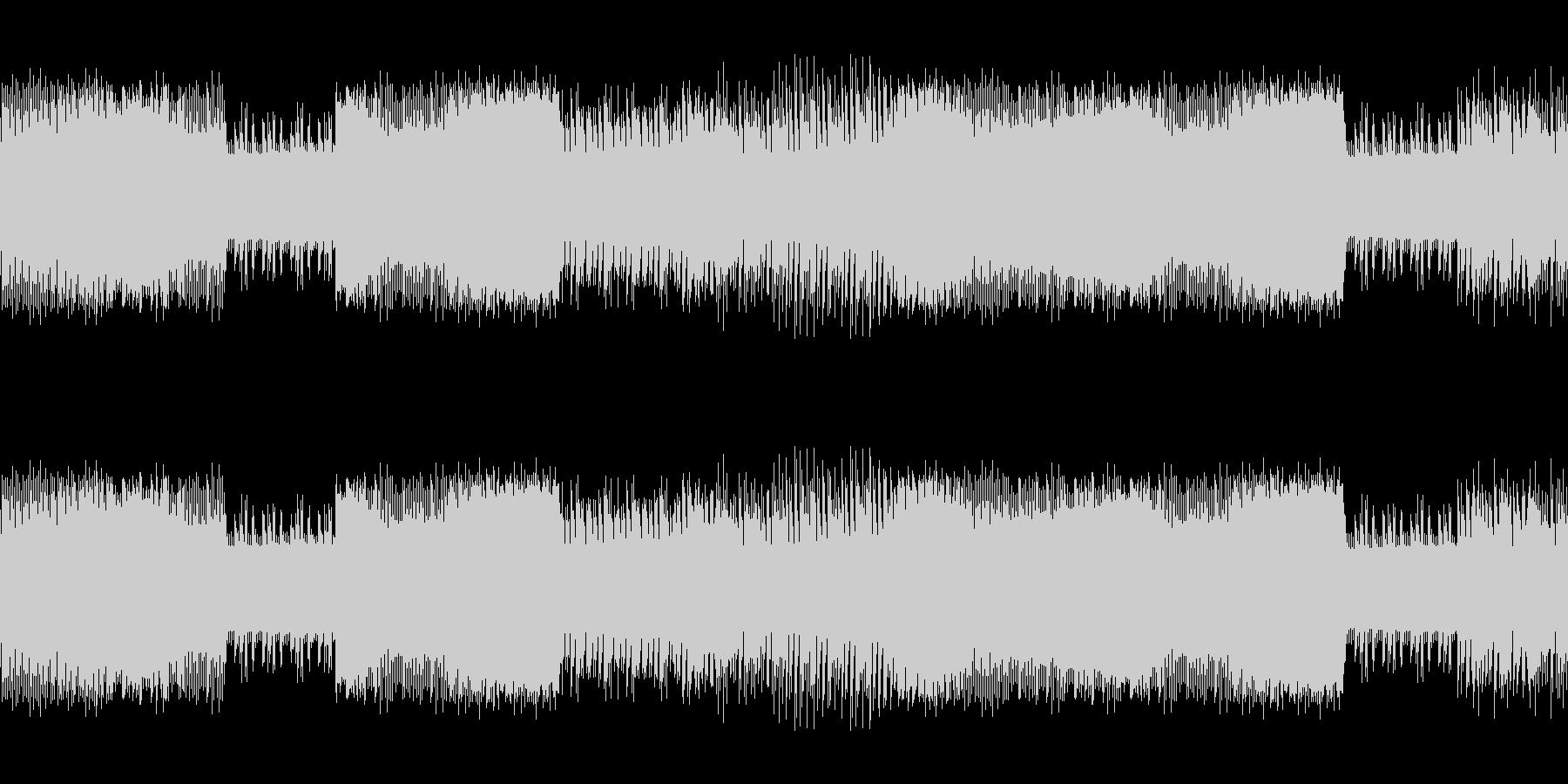 8ビットゲームサウンドBGM 03の未再生の波形