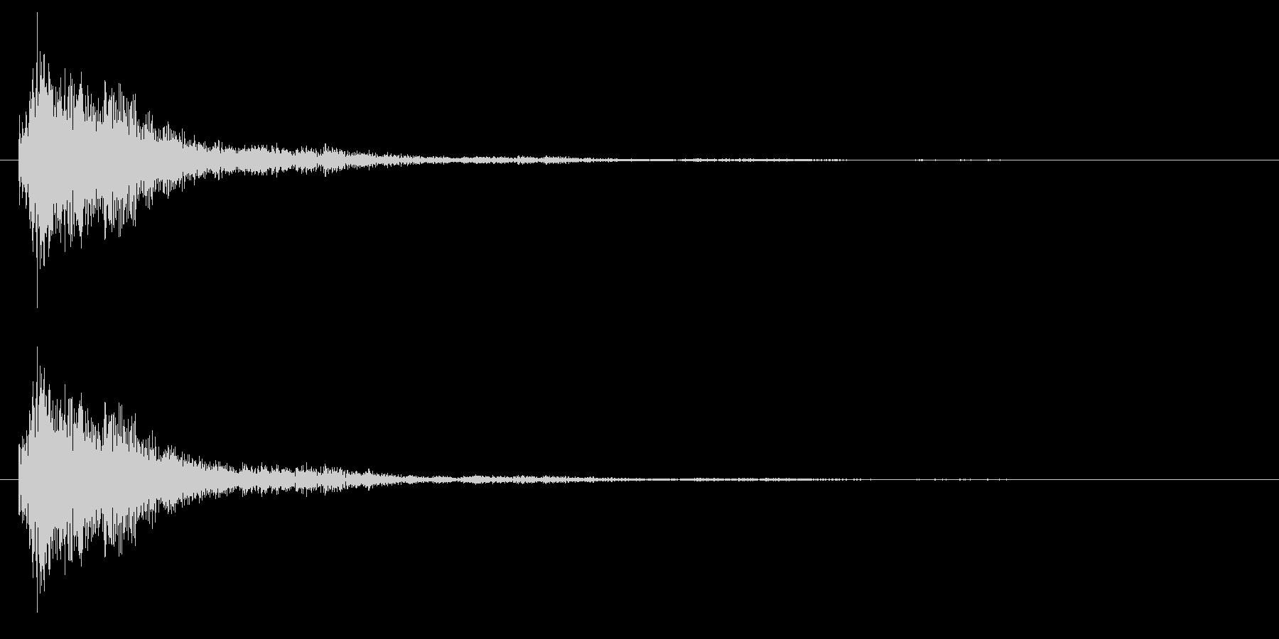 SF/決定音/選択音の未再生の波形