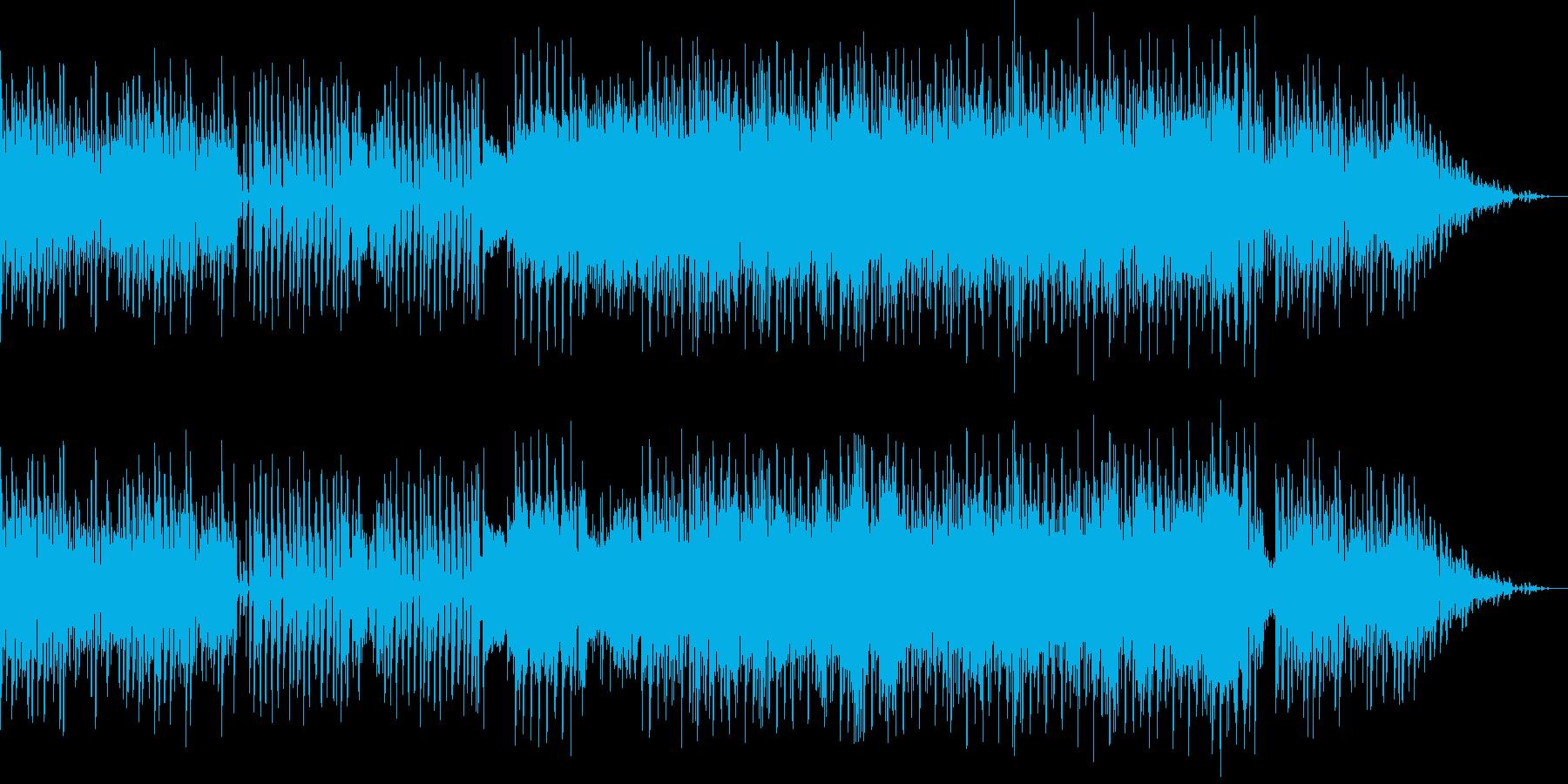 レトロゲーム風BGM(戦闘、格闘)の再生済みの波形