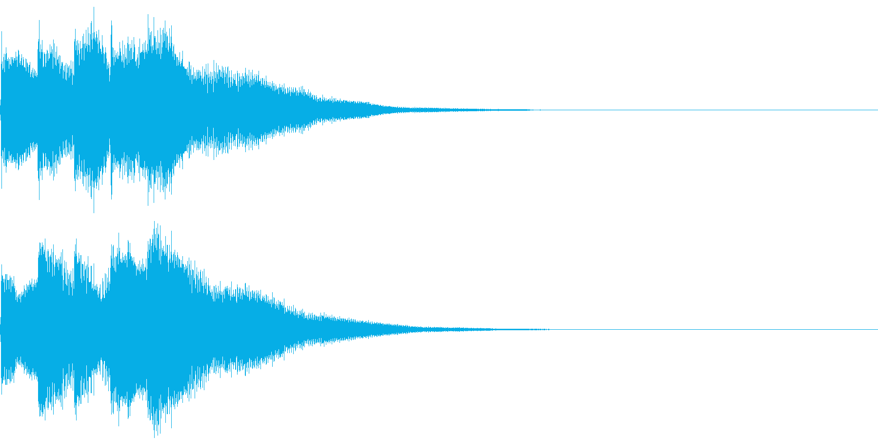 キラリン チャラリン クリック 40の再生済みの波形