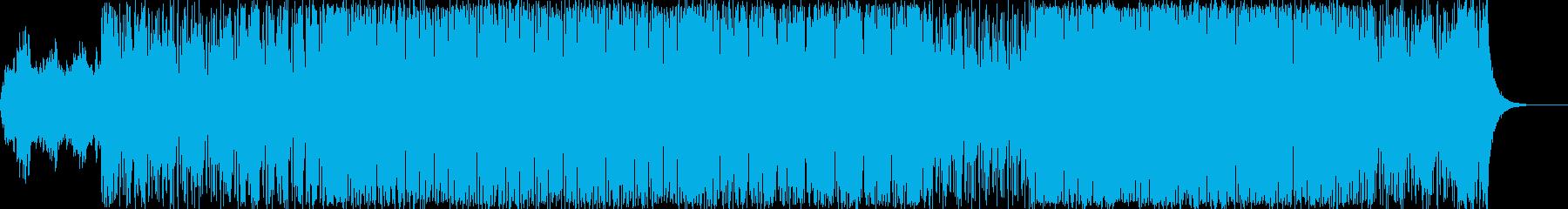 サンプリングボーカルを使ったチル系の再生済みの波形
