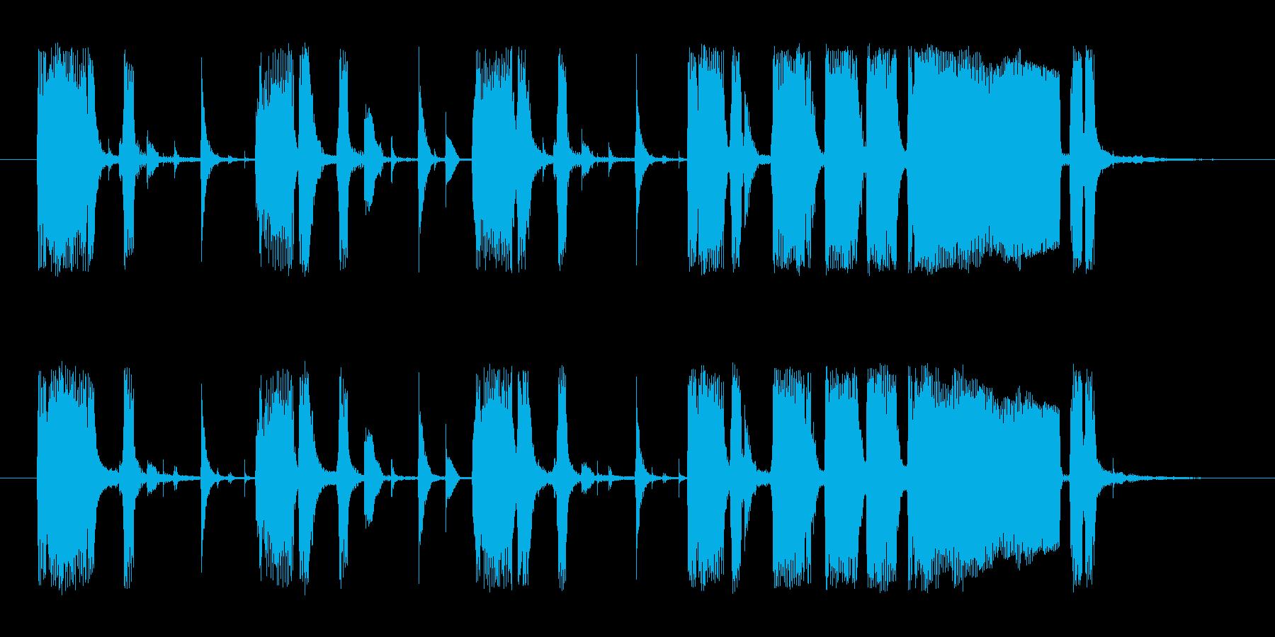 15秒使いやすい、CM,ジングル、ロゴにの再生済みの波形