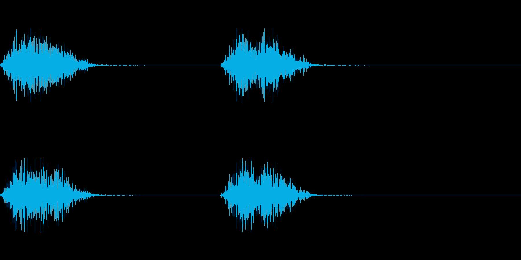モンスターの足音 3の再生済みの波形