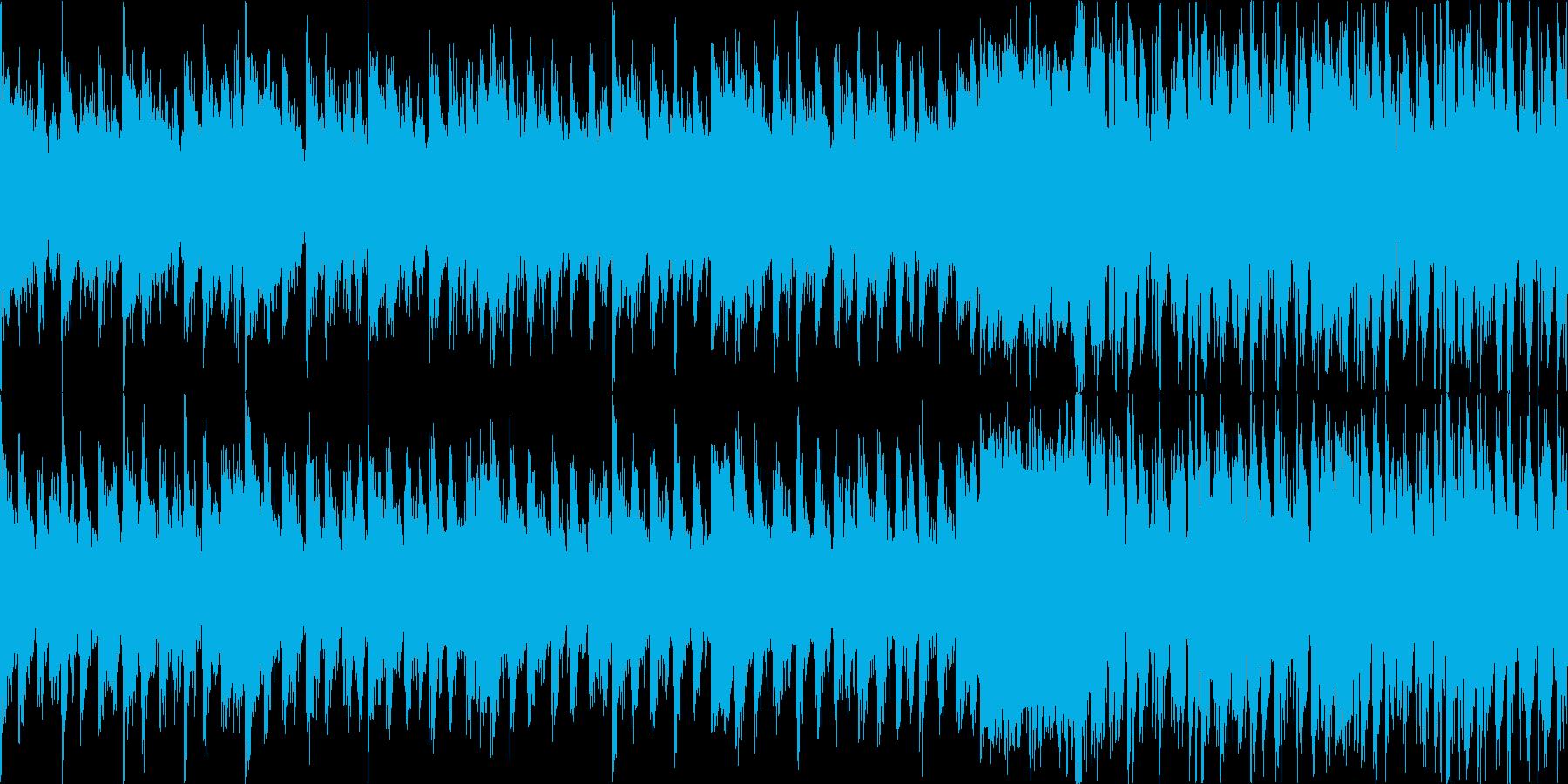 緊急事態 エマージェンシー ループの再生済みの波形