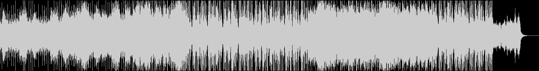 和風インダストリアル曲(別バージョン)の未再生の波形