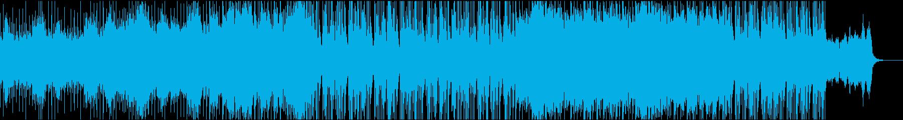 和風インダストリアル曲(別バージョン)の再生済みの波形