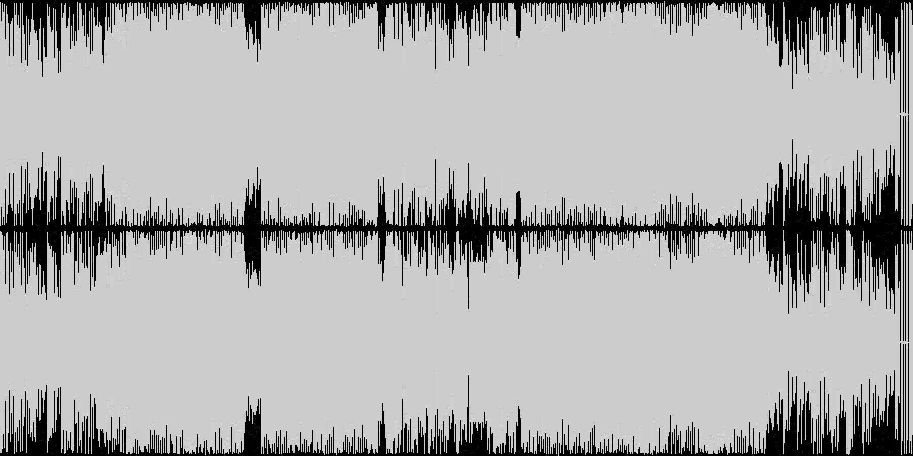 心がウキウキEDM的テクノポップ ループの未再生の波形