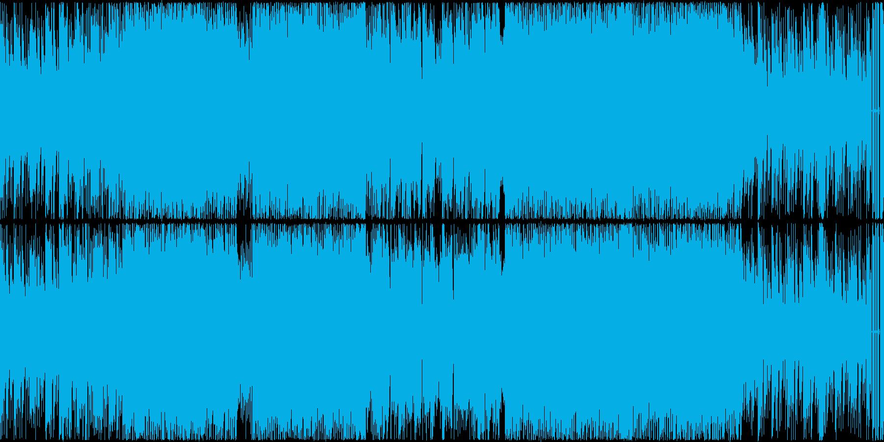 心がウキウキEDM的テクノポップ ループの再生済みの波形