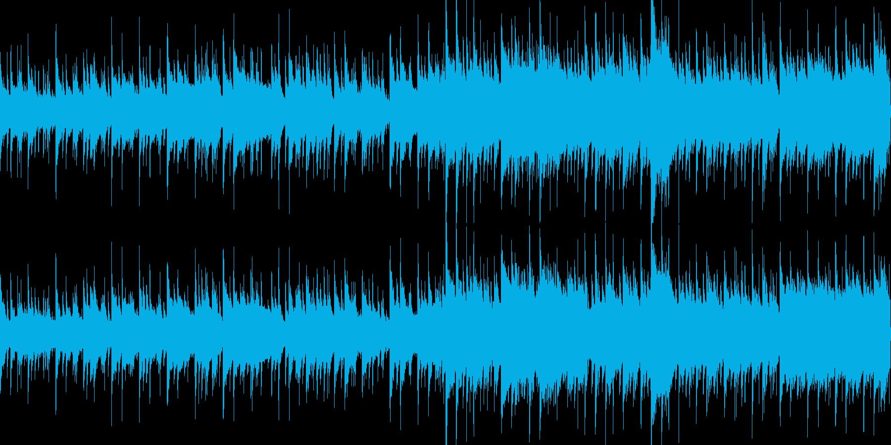 爽やかな朝 (ループ仕様)の再生済みの波形