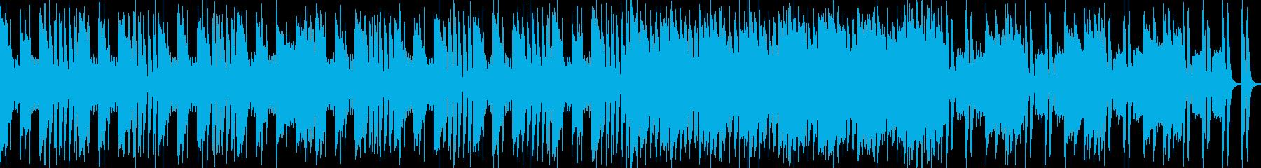 【ループ可】FPS、戦場、ステージBGの再生済みの波形