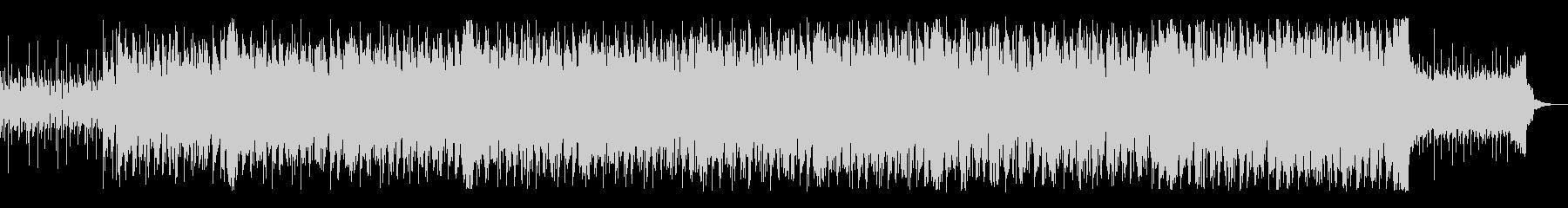 軽快なピアノテクノポップスの未再生の波形