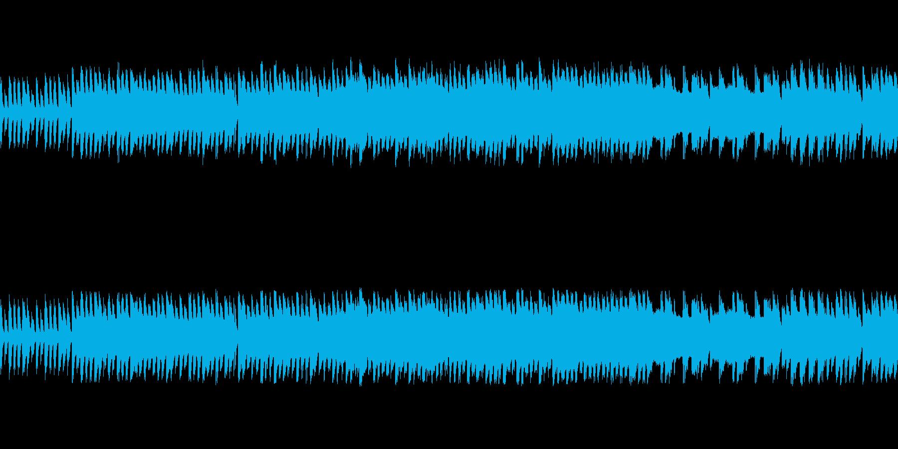 ファミコン風レトロRPG-戦闘/バトルの再生済みの波形