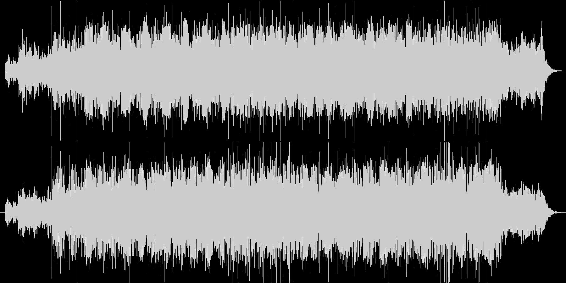 ゴシックホラー調の未再生の波形