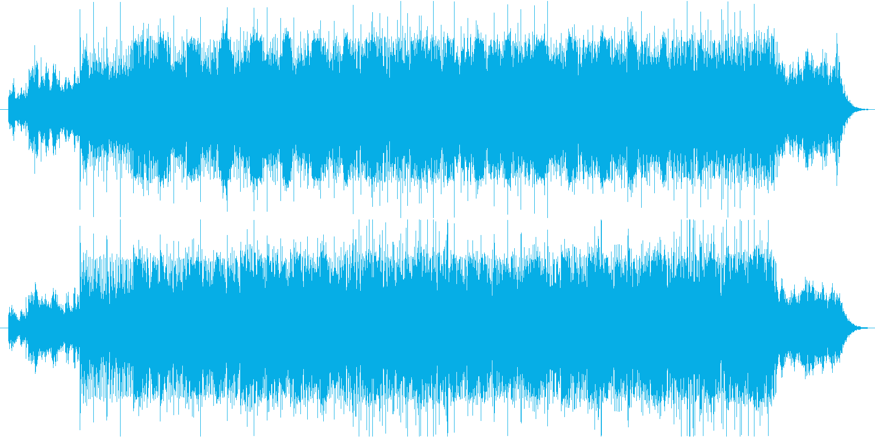 ゴシックホラー調の再生済みの波形