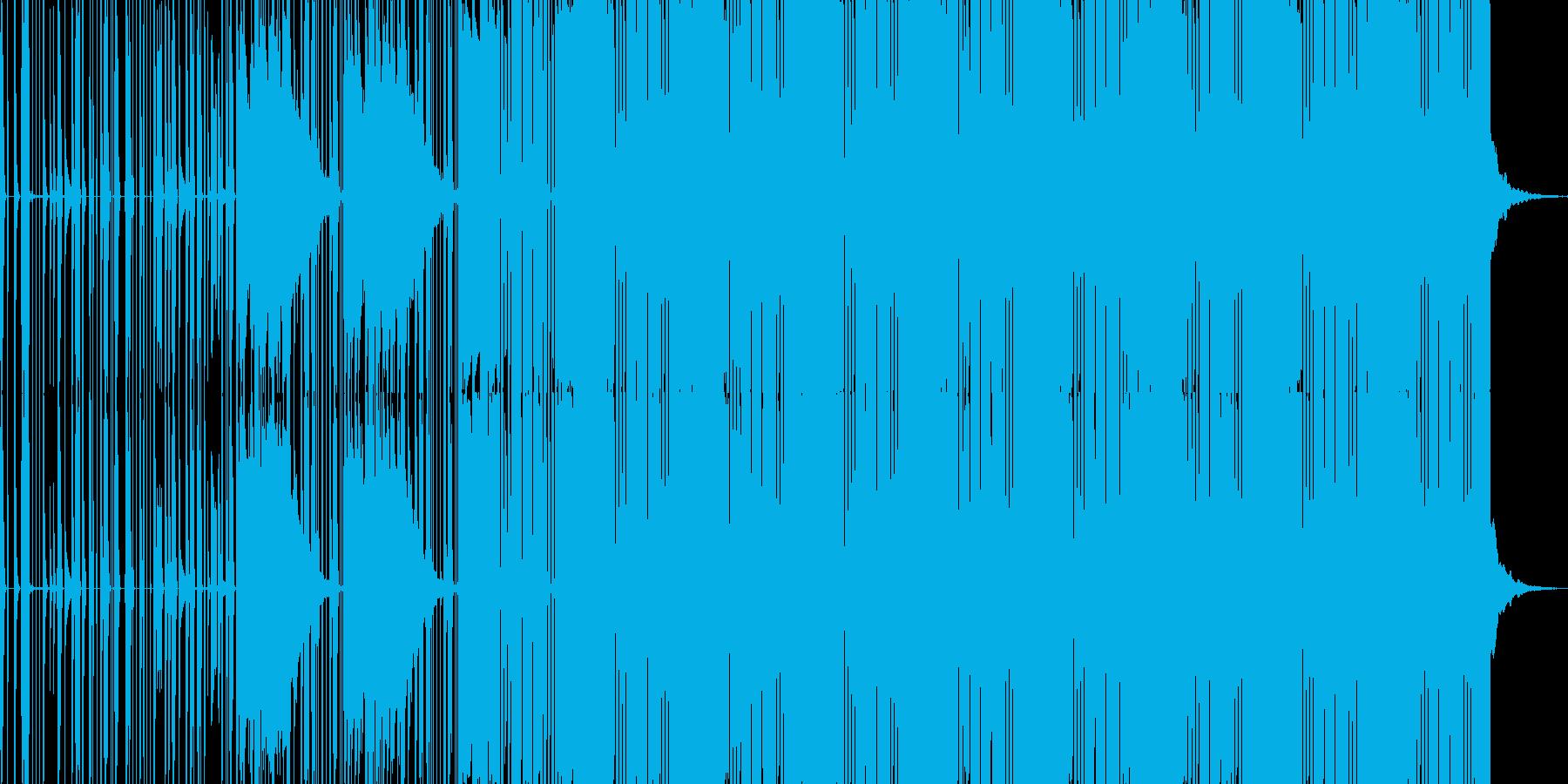 レトロフューチャーサイエンスエレクトロの再生済みの波形
