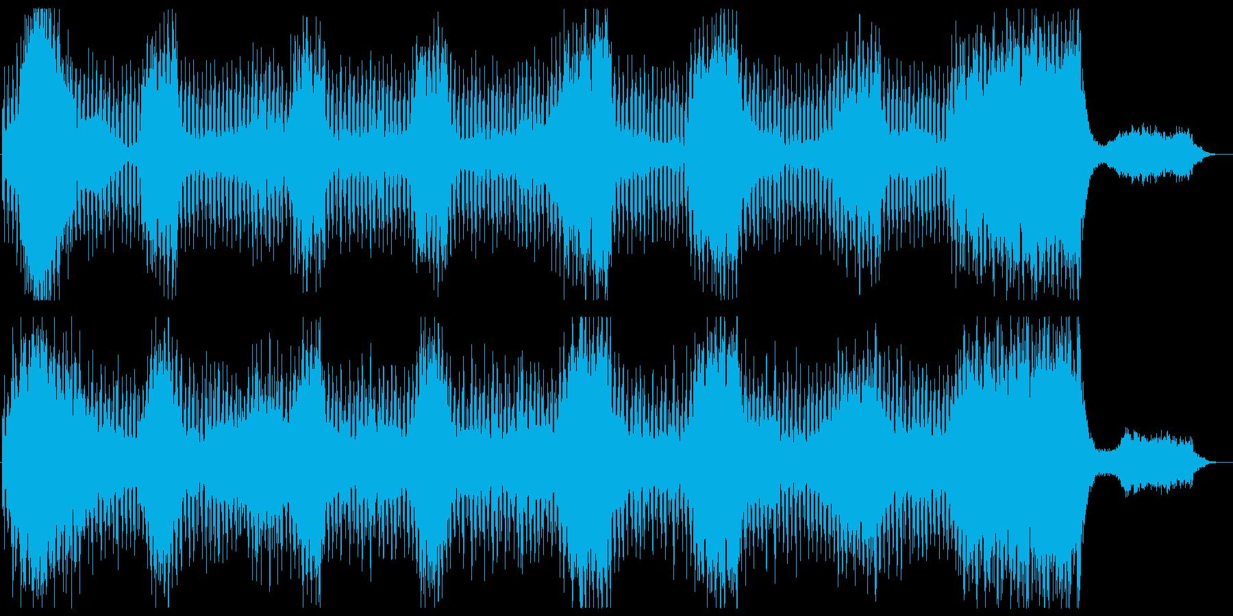 ダークでホラーなBGM 恐怖科感の演出の再生済みの波形