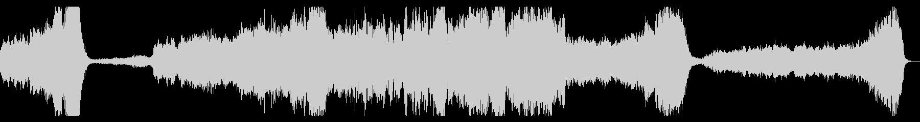 ダークファンタジー系 オーケストラBGMの未再生の波形