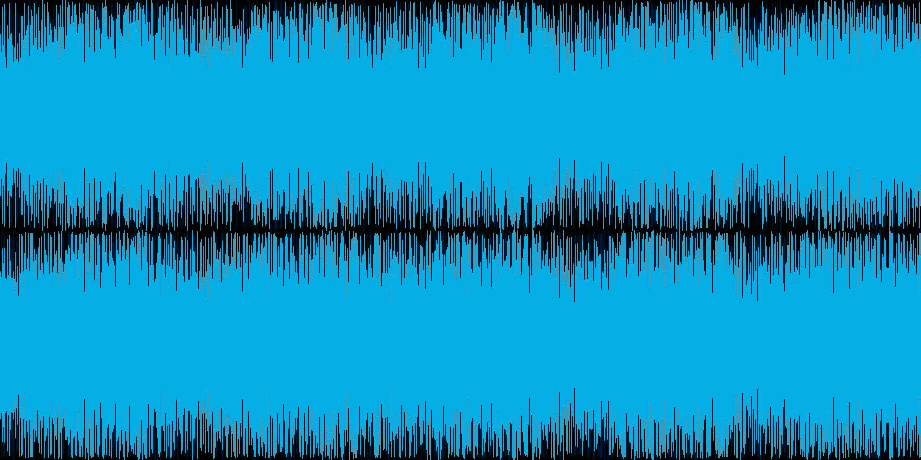 小川のせせらぎ(チョロチョロ・サラサラ)の再生済みの波形