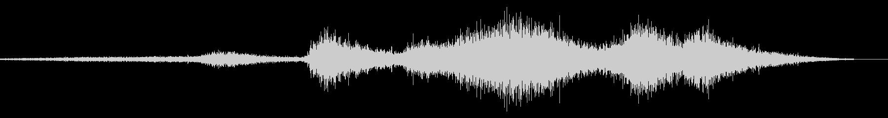 ビリビリ!電気 電磁波 火花 効果音 1の未再生の波形
