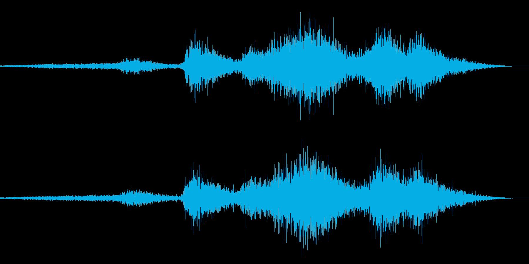 ビリビリ!電気 電磁波 火花 効果音 1の再生済みの波形