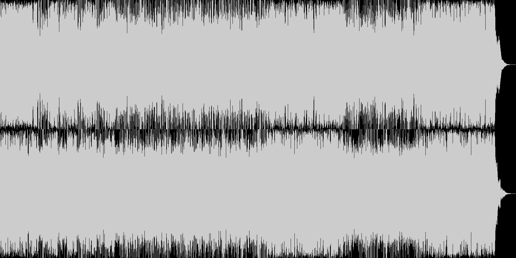 ダークでサイバーパンク的な雰囲気のテク…の未再生の波形