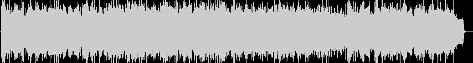 感動的で壮大なオーケストラBGMの未再生の波形