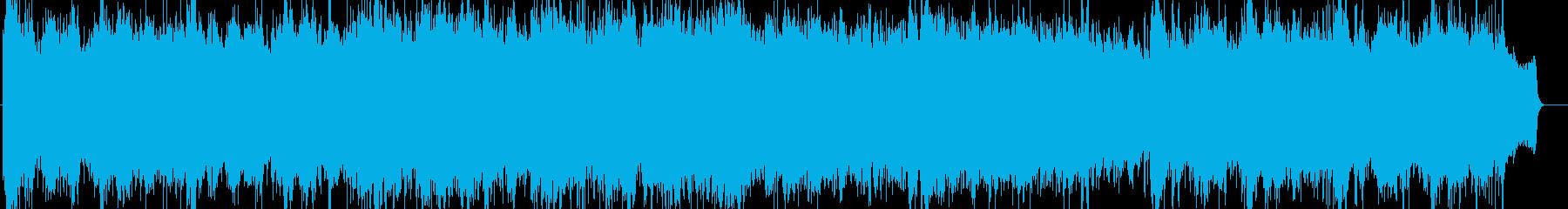 感動的で壮大なオーケストラBGMの再生済みの波形