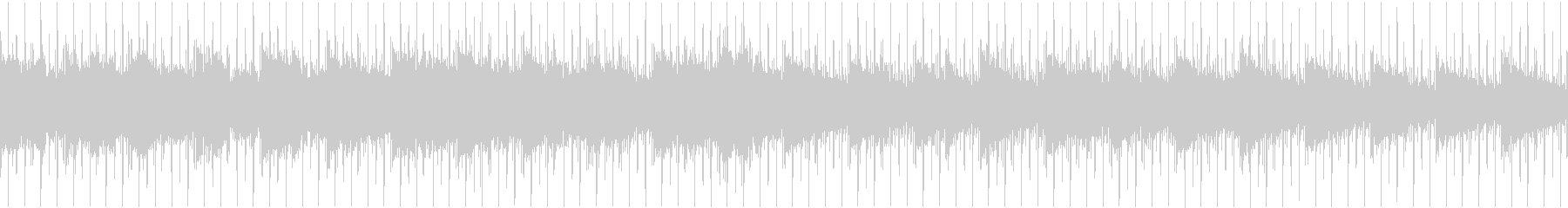 モノートーンで淡い感じのハウスループ音源の未再生の波形