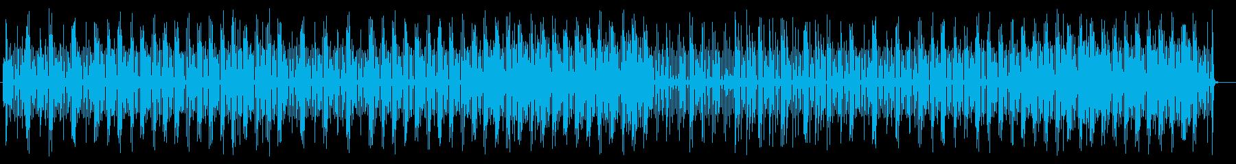 さわやかなシンセサイザーのポップスの再生済みの波形