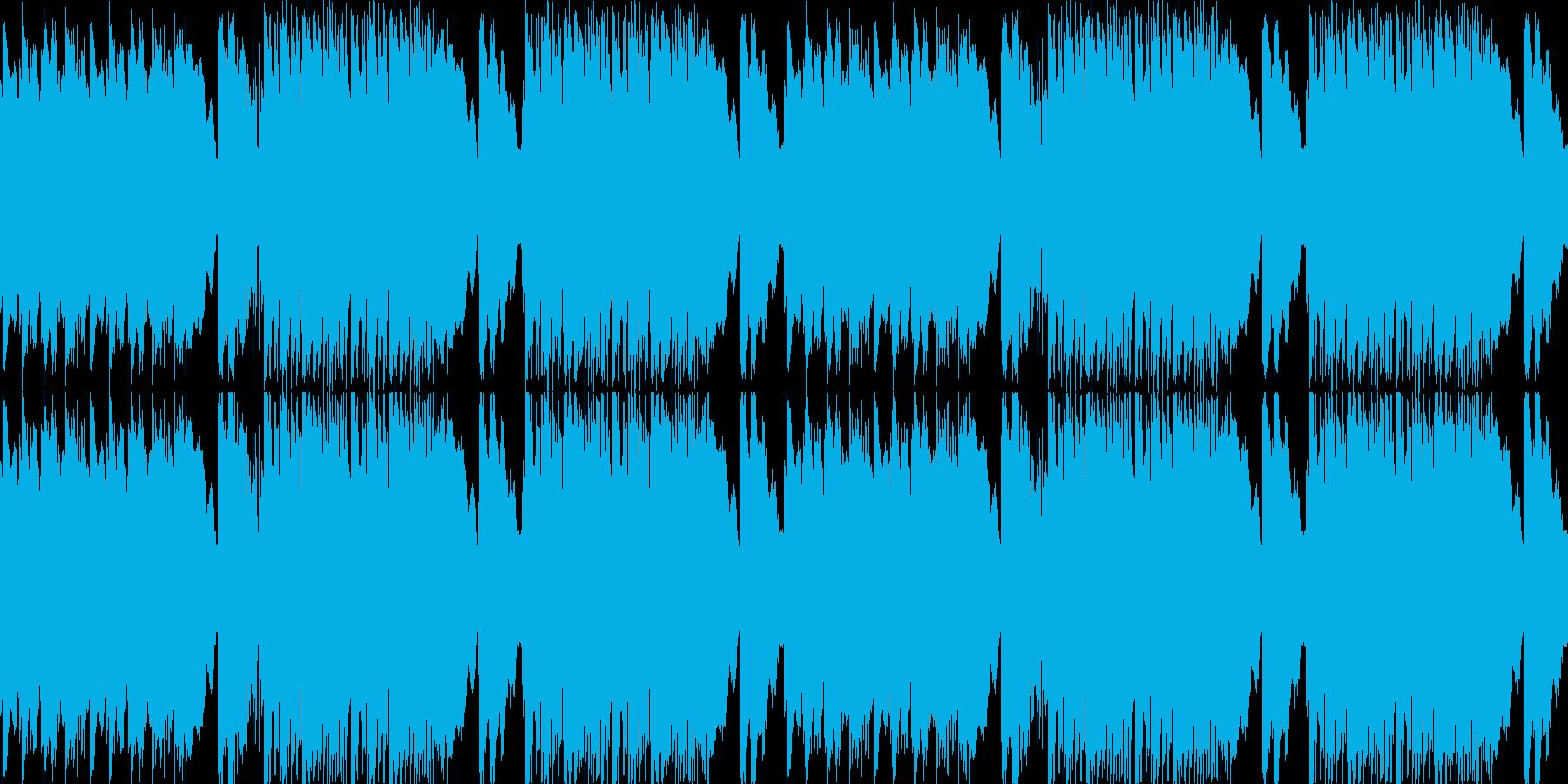 【スピーチ用BGMロマンチックバラード】の再生済みの波形