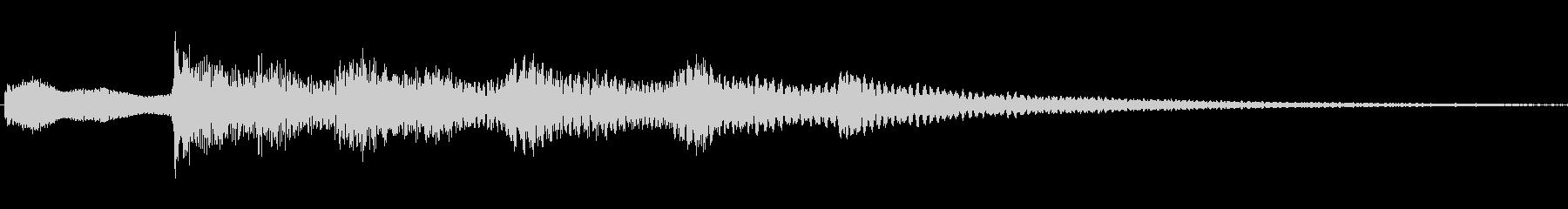 ジングル101cの未再生の波形
