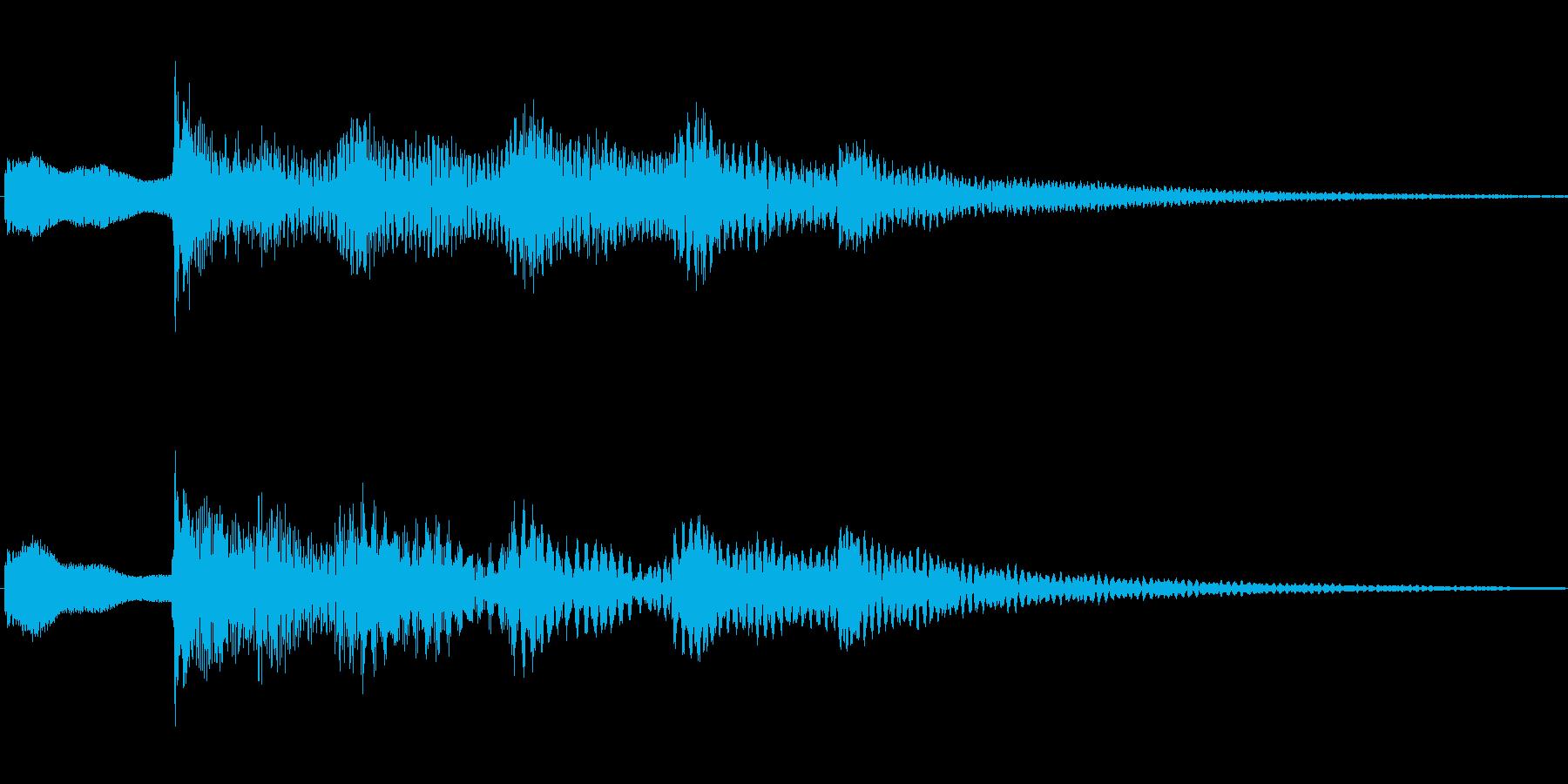 ジングル101cの再生済みの波形