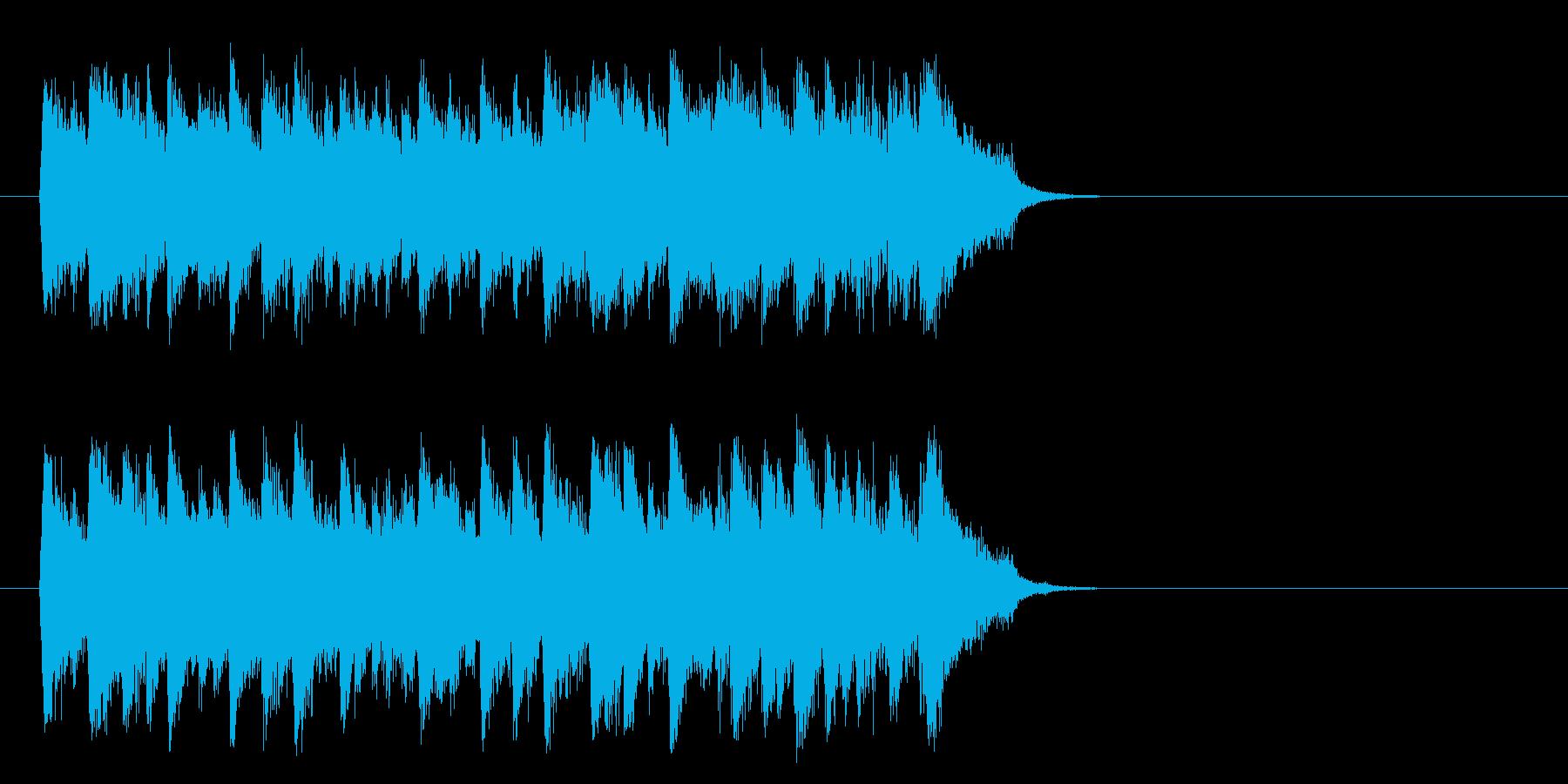 感動のピアノ・バラード(サビ)の再生済みの波形