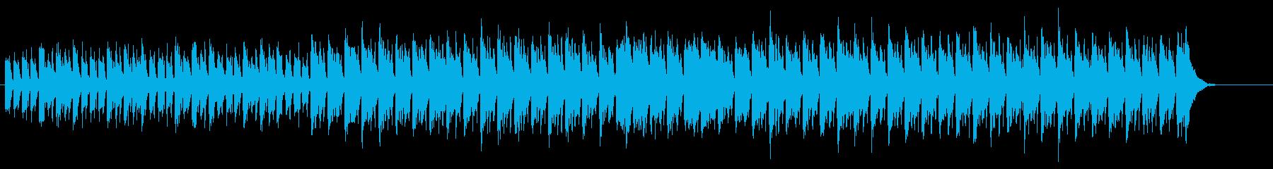 微笑ましいチュルドレン・ミュージック風の再生済みの波形
