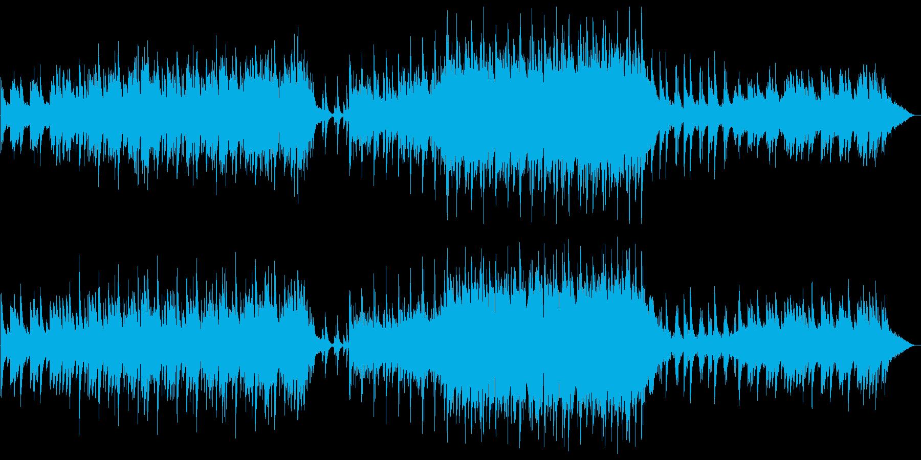 [和風ファンタジー] 幻想的~緊迫感の再生済みの波形