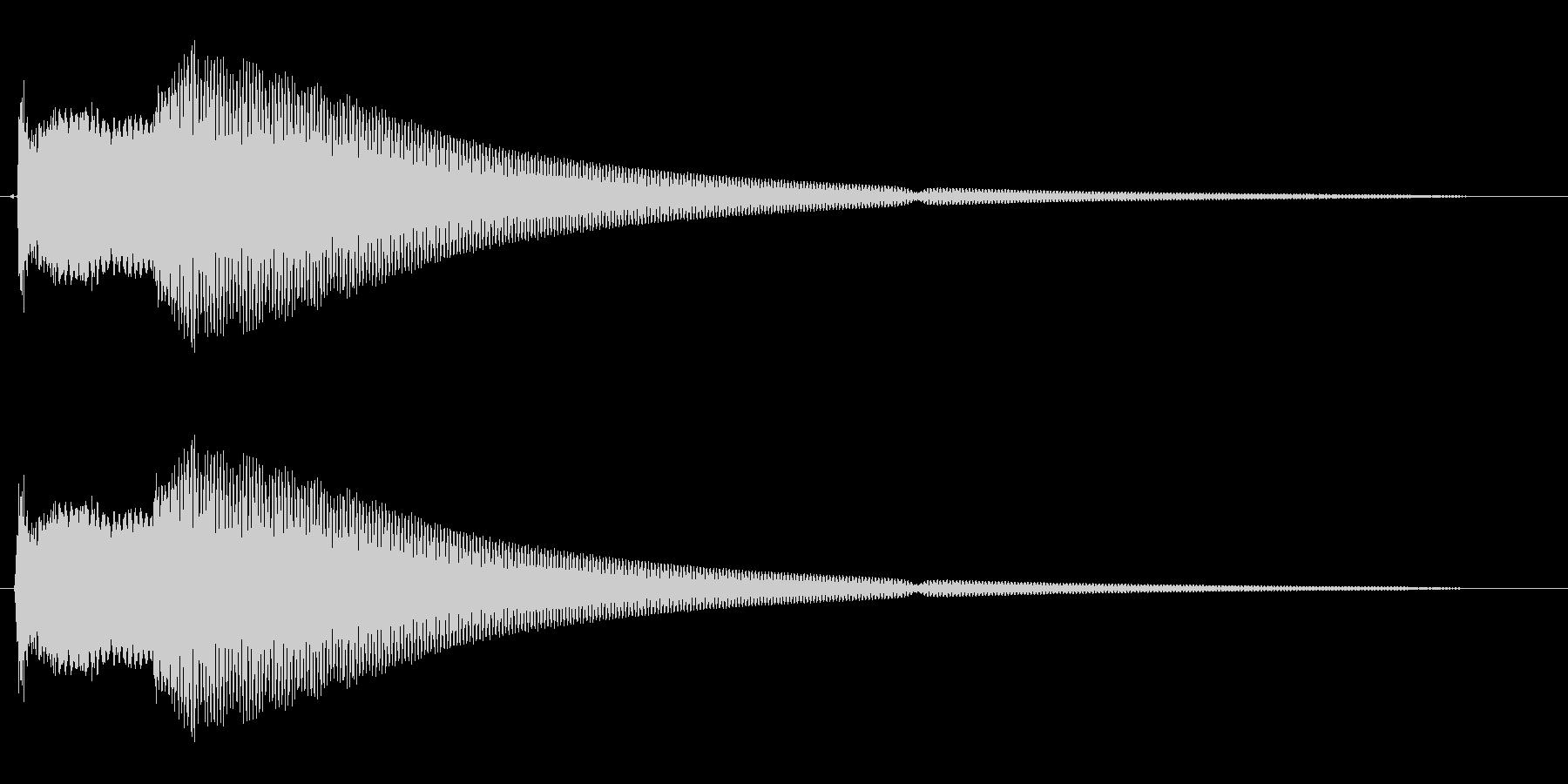 ピコーン(コカーン)の未再生の波形