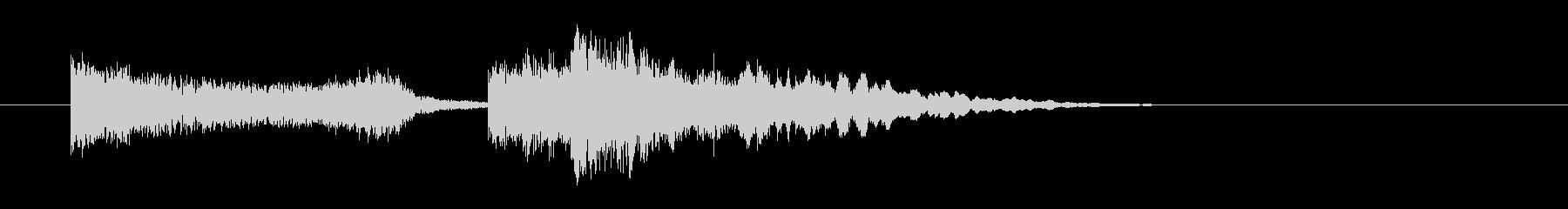 デンッシャランの未再生の波形