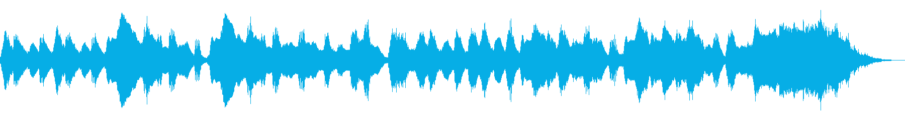 フルートが奏でる可愛いほのぼのジングルの再生済みの波形